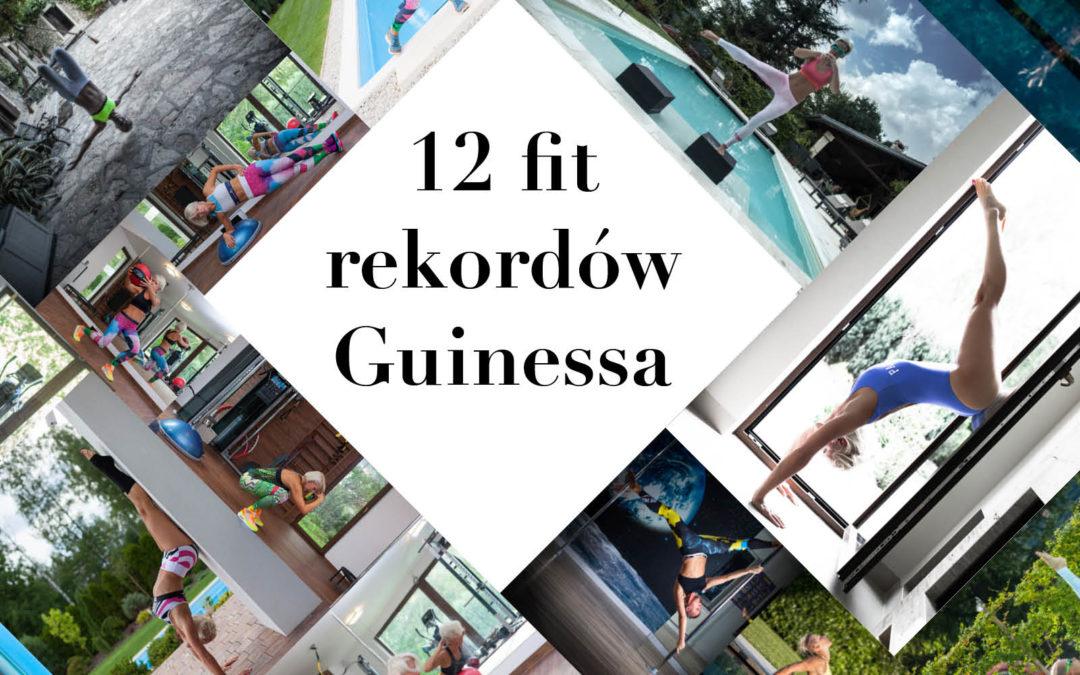 12 fit rekordów Guinness, które robią wrażenie