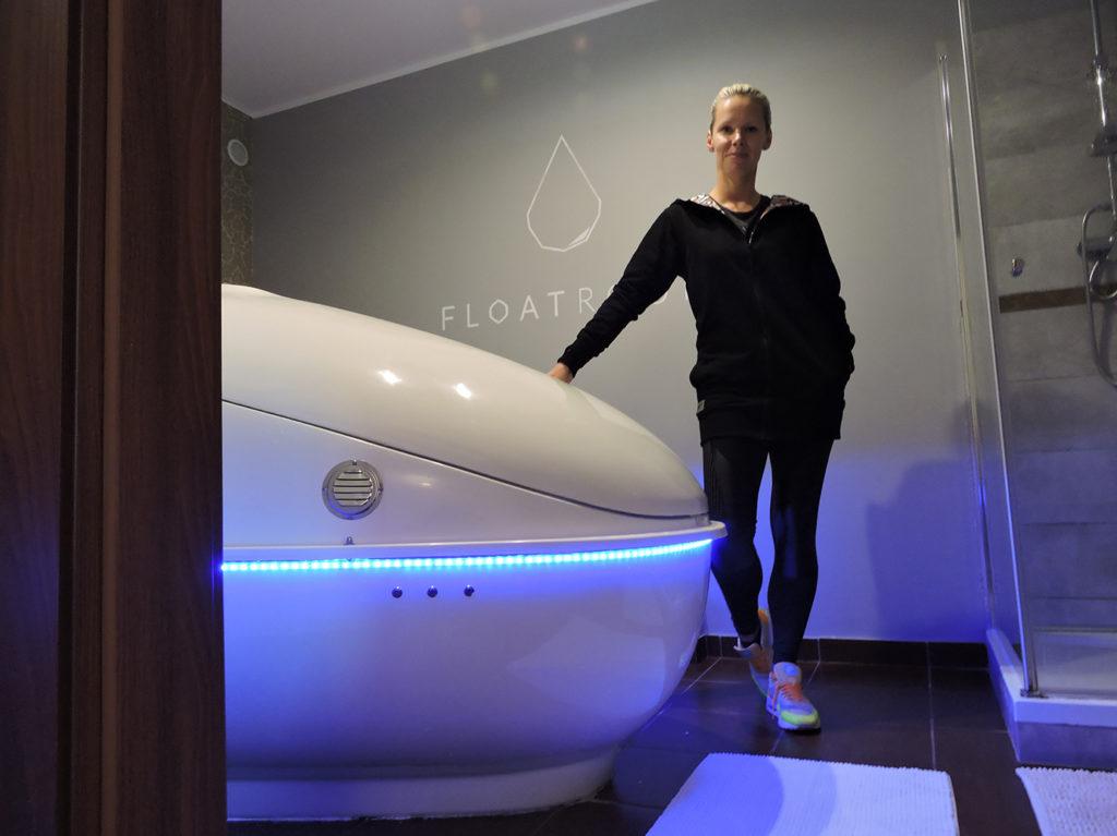 Agnieszka Peszek trener personalny Floatroom
